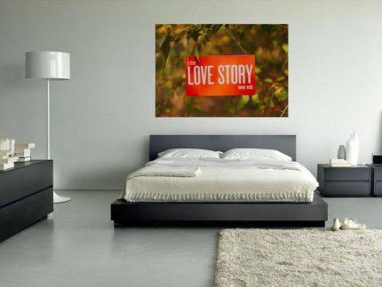 Πίνακας σε καμβά Ατέλειωτη Αγάπη