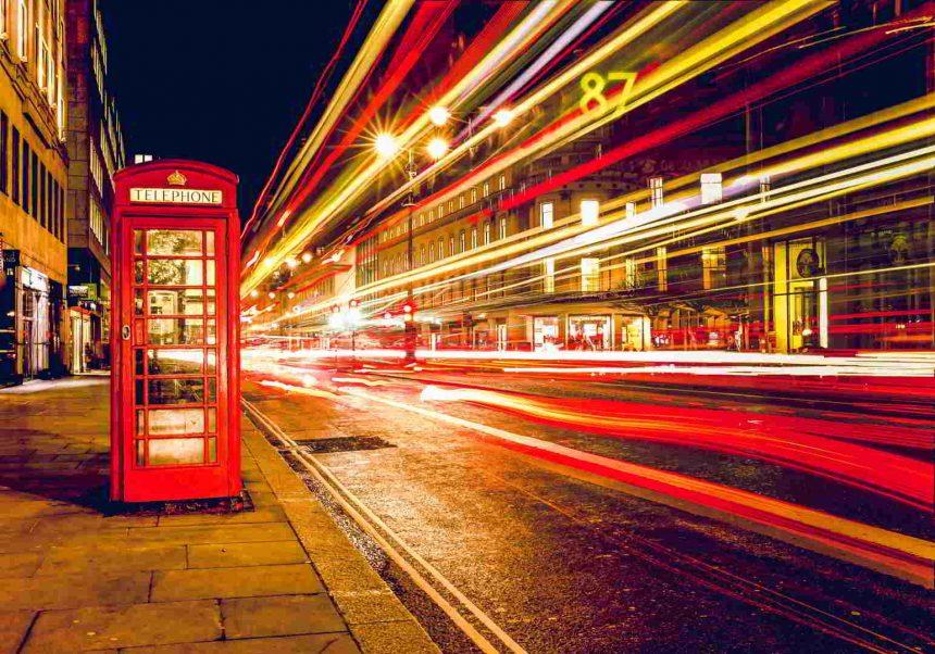 Πίνακας σε καμβά London by Night
