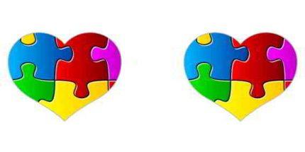 Κούπα με παράσταση Puzzle Αγάπης